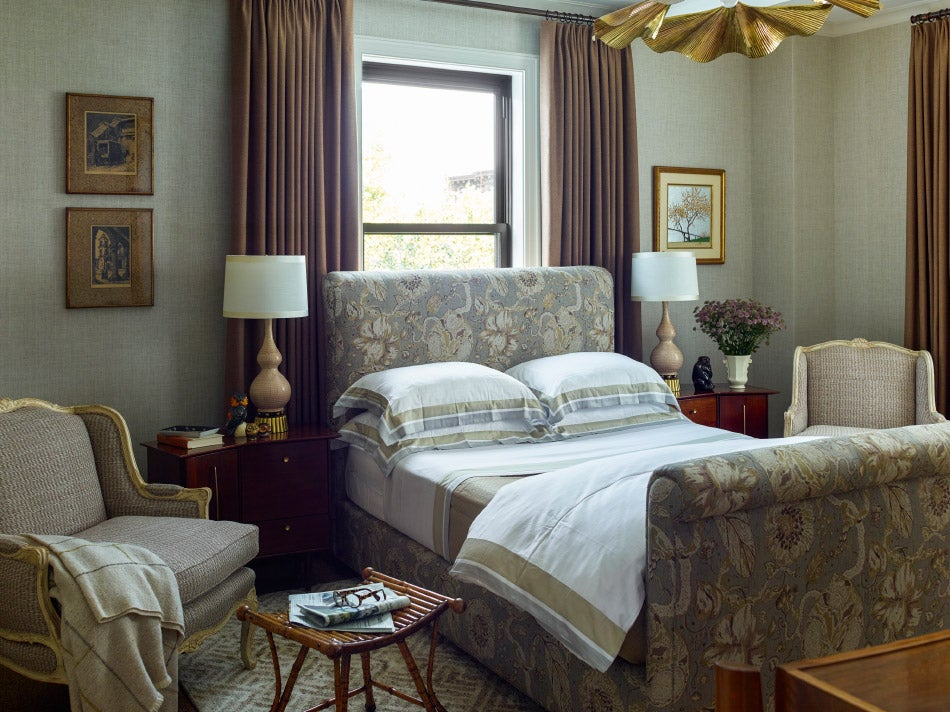 Master bedroom designed by Mendelson