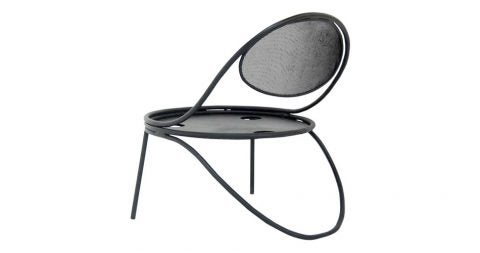 Mathieu Matégot Copacabana armchair, 1950, offered by Side-Gallery