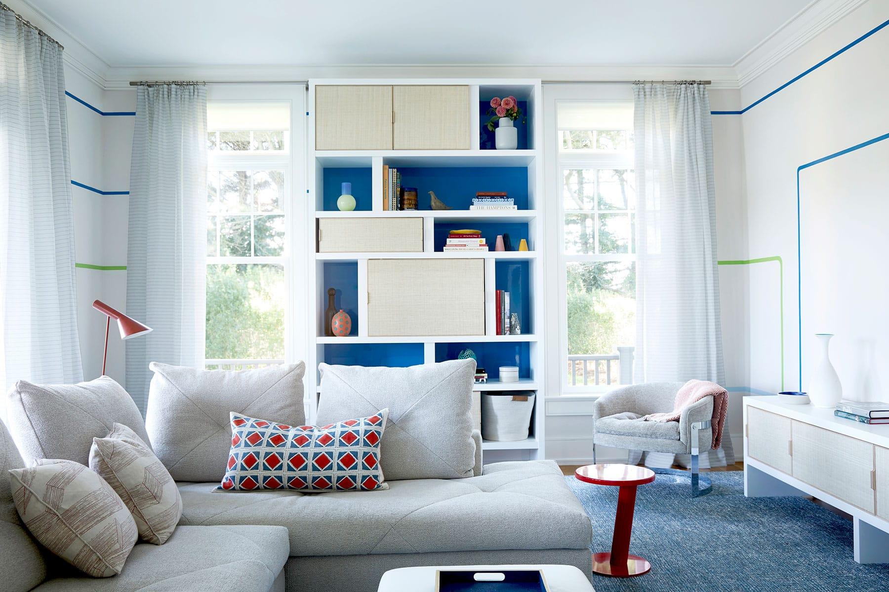 Bridgehampton family room by Pepe Lopez