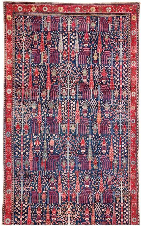 Northwest Persian garden carpet, 1785