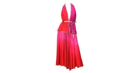 Giorgio di Sant'Angelo halter ensemble, 1970s, offered by Morphew
