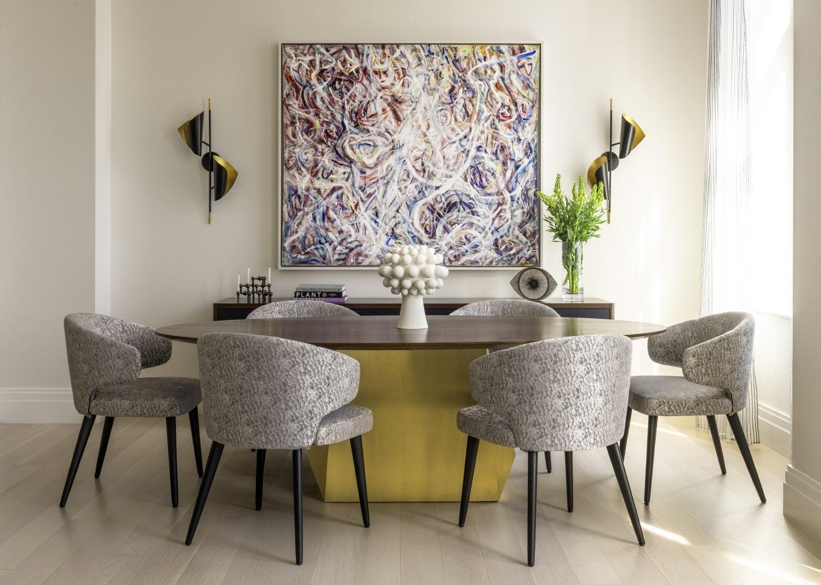 dining room by Paris Forino