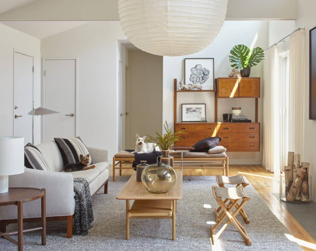 East Hampton living room by Russell Groves