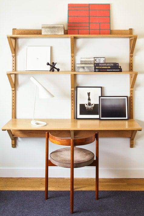 custom desk in room by Russell Groves