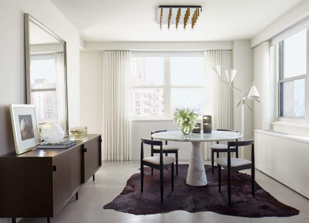 Manhattan dining room by Russell Groves