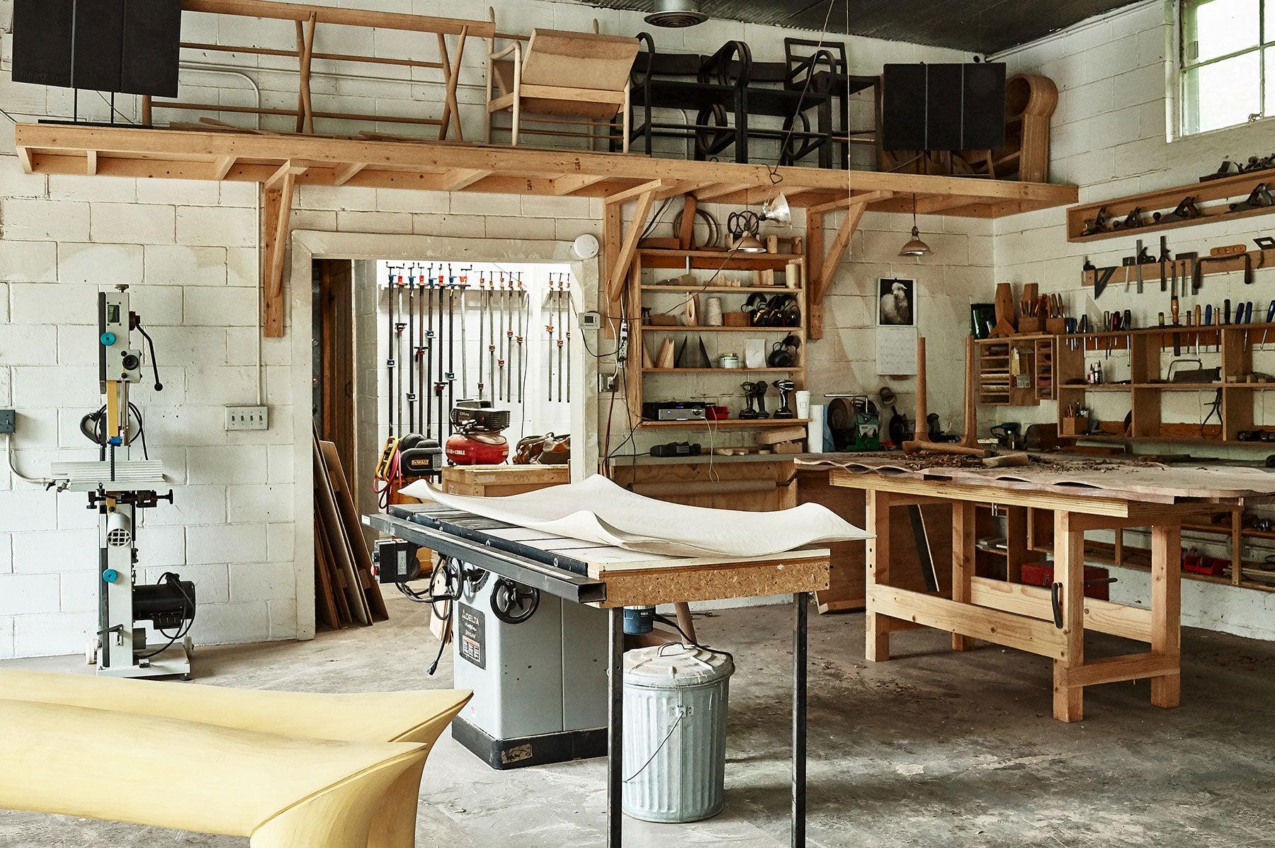 Christopher Kurtz's woodshop
