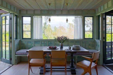 breakfast room by Studio Shamshiri