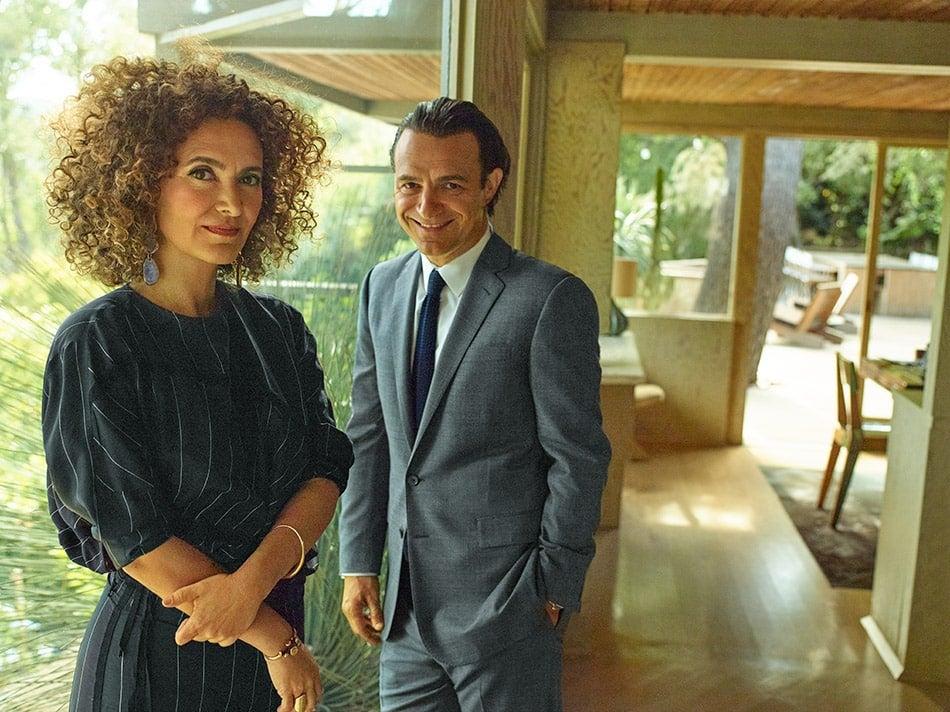 Pamela Shamshiri and her brother Ramin Shamshiri