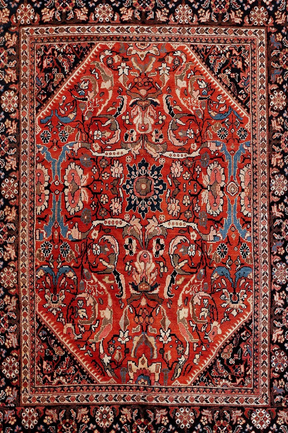 Paradise Is Found Underfoot in These Majestic Persian Textiles