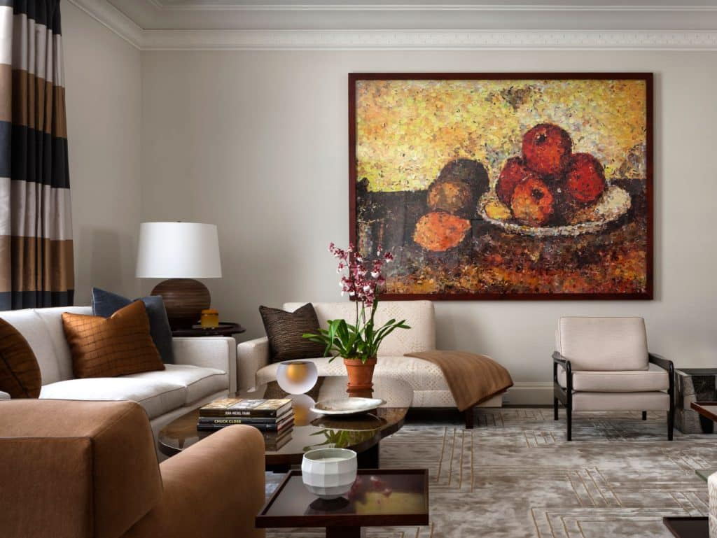 John B. Murray David Kleinberg Manhattan New York Park Avenue living room