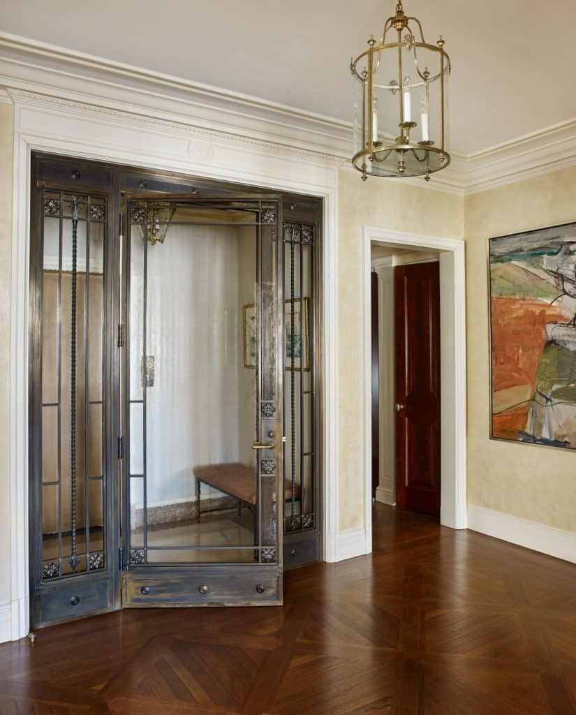 John B. Murray Manhattan New York entry hall entryway foyer door