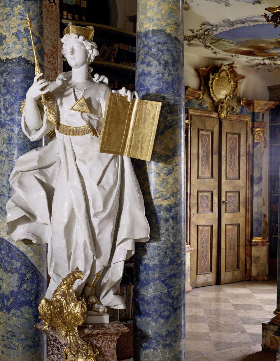 The Klosterbibliothek Wiblingen