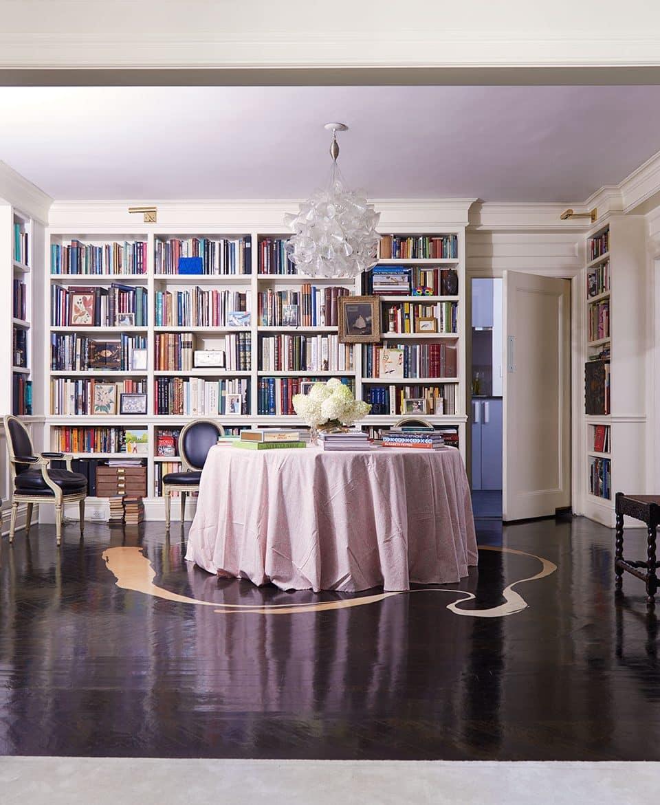 Blair Voltz Clarke's Park Avenue Apartment Has Artistic Flair to Spare
