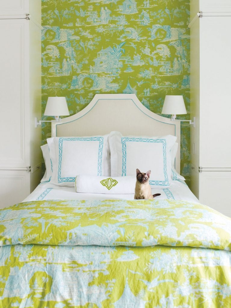 Susanna Salk Power of Pattern book David Kleinberg bedroom