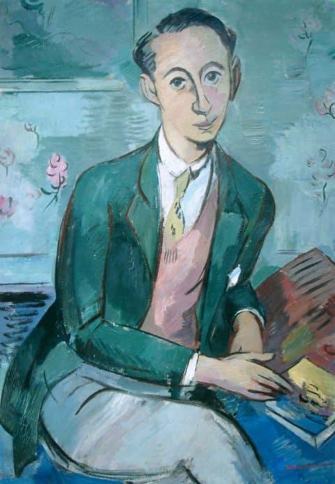 Paul Strecker portrait of Christian Dior
