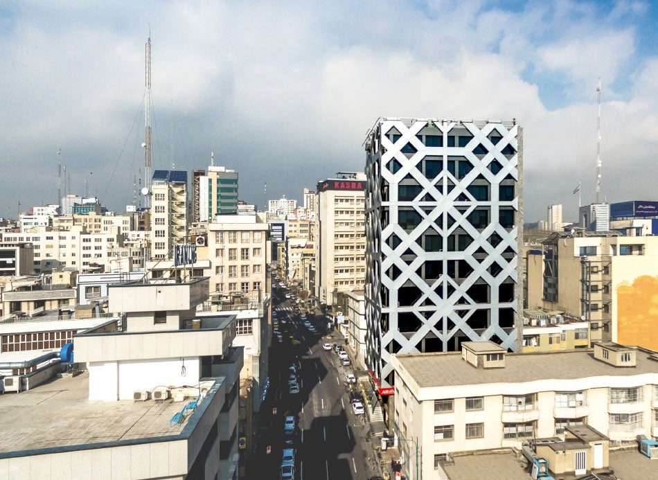 Hariri & Hariri Architecture Tehran office tower