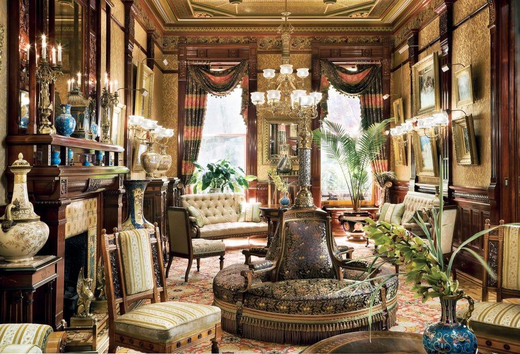 living room by David Scott Parker Architects