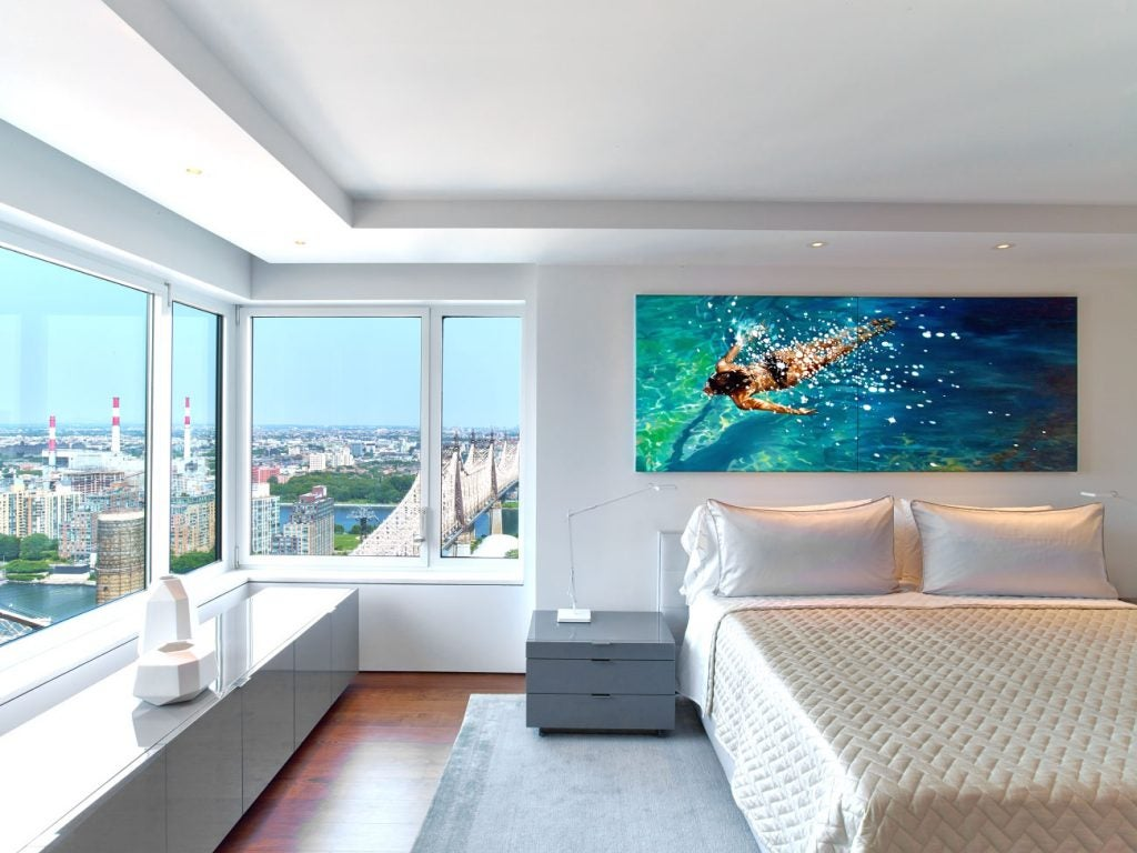 Hariri & Hariri Architecture Manhattan apartment bedroom