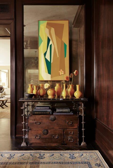 Los Angeles designer Kerry Joyce book The Intangible Manhattan penthouse Peking glass vases