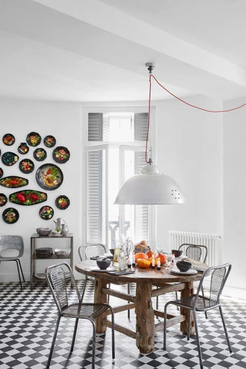 Daniel Rozensztroch book A Life of Things Nice home loft objects collection dining area