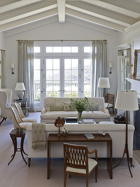 Los Angeles designer Kerry Joyce book The Intangible country living room
