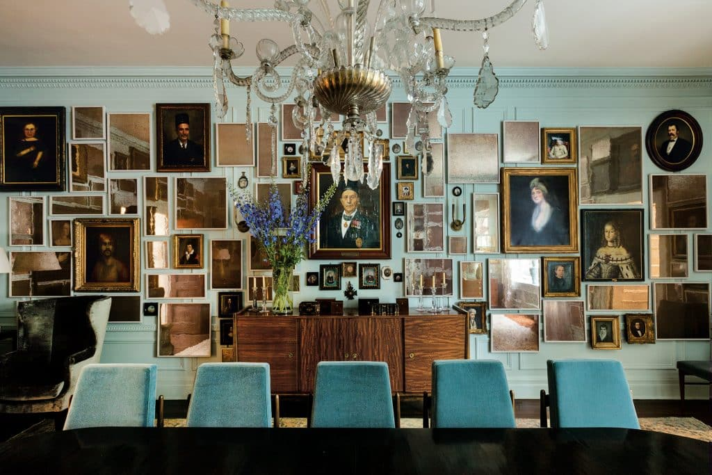 Los Angeles designer Kerry Joyce book The Intangible Manhattan townhouse dining room