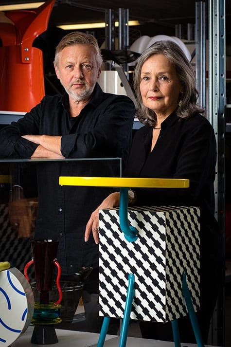 Lars Bülow and Kersti Sandin