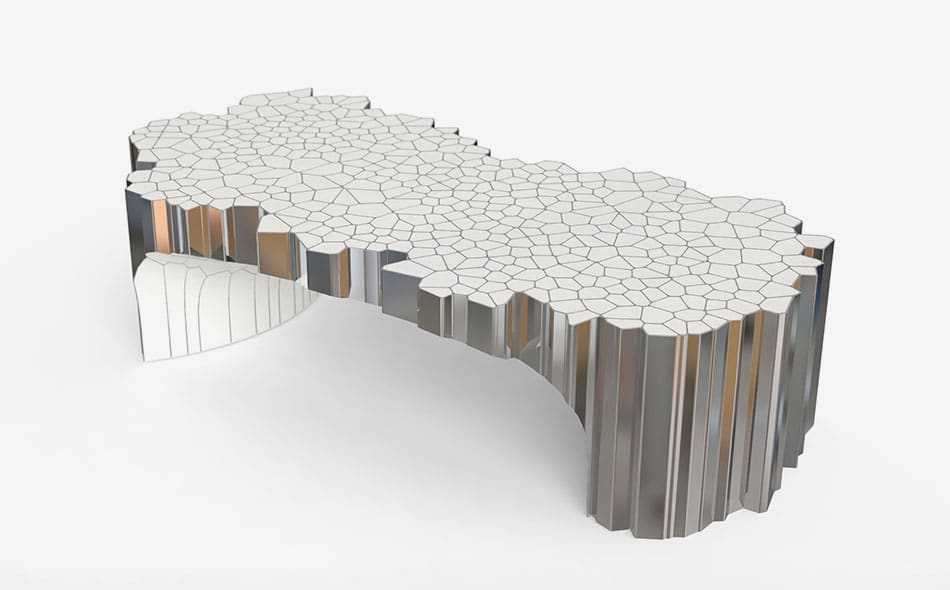 Rectangular Coffee Table(MY Collection), 2018, by Michael Young