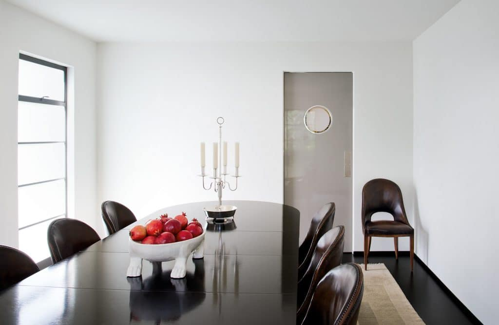 Los Angeles designer Kerry Joyce book The Intangible Los Angeles Art Moderne dining room
