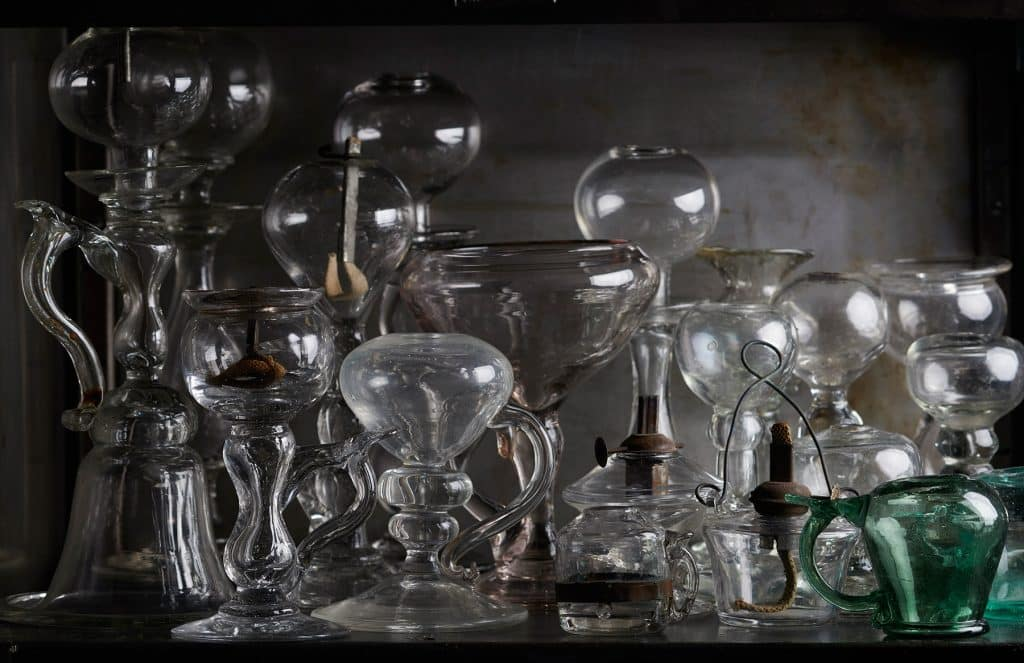 Daniel Rozensztroch book A Life of Things Paris home loft objects collection Provencal oil lamps