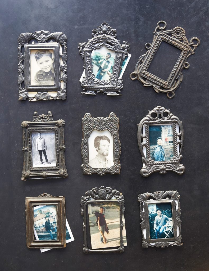 Daniel Rozensztroch book A Life of Things Paris home loft objects collection Napoleon III-era stamped metal frames