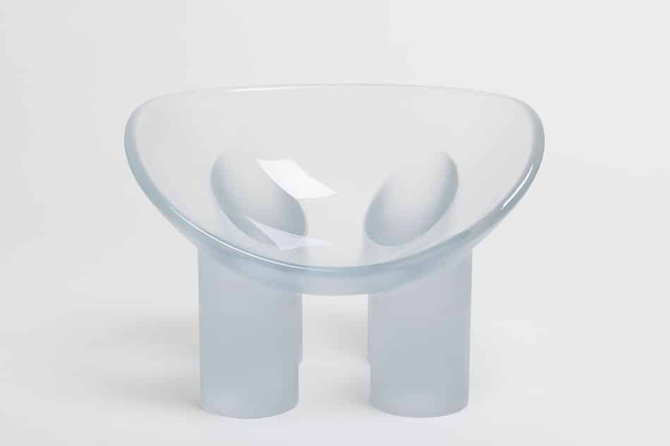 Roly-Poly Chair/Water, 2016, by Faye Toogood