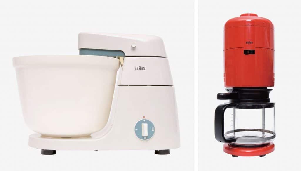 Dieter Rams Philadelphia Museum of Art Principled Design Braun KM3 food processor KF 20 coffee machine