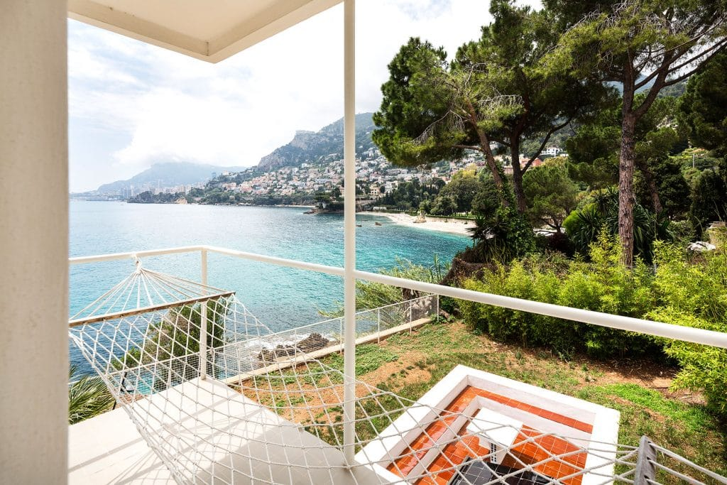 The View of the Mediterranean from Eileen Gray's villa E-1027