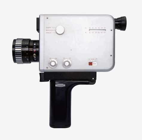 Dieter Rams Philadelphia Museum of Art Principled Design Braun Nizo S 8 movie film camera