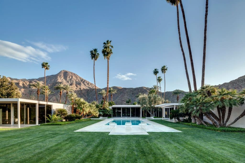 FormArch New York architecture and design firm Palm Springs William. F. Cody exterior pool