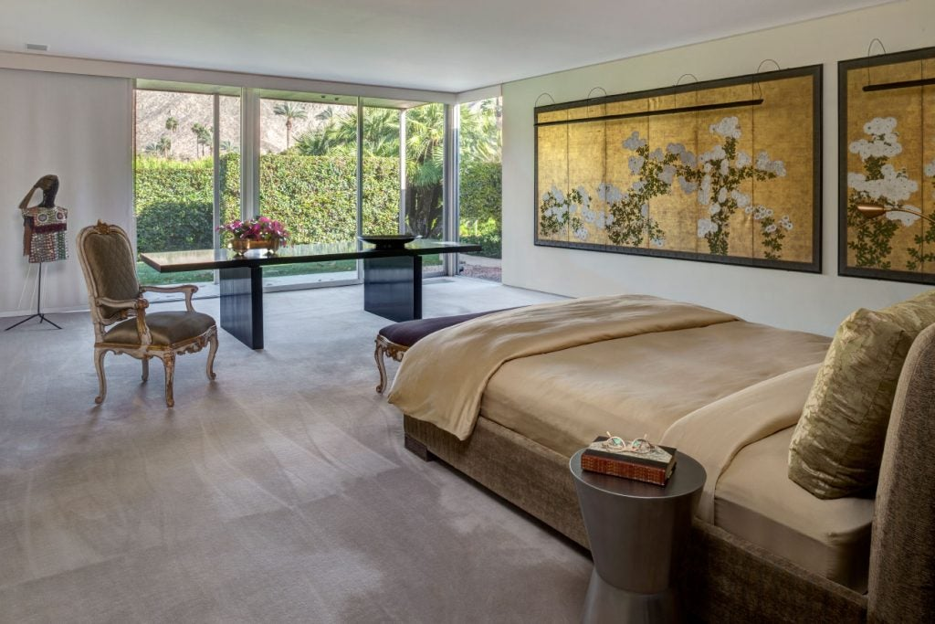 FormArch New York architecture and design firm Palm Springs William. F. Cody master bedroom