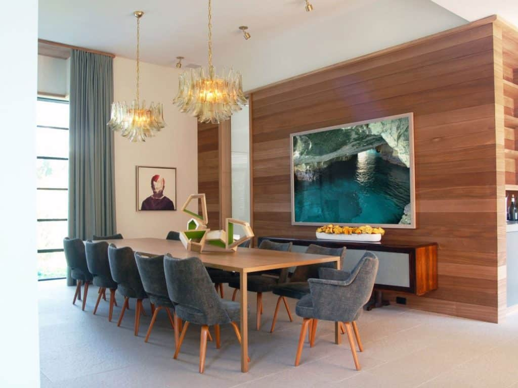 FormArch New York architecture and design firm Amagansett House Long Island Hamptons dining room
