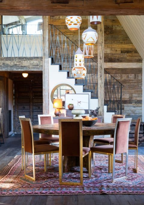 dining room by Hammer and Spear