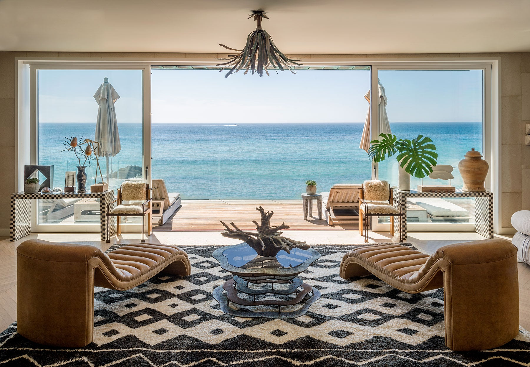 Kelly Wearstler Malibu living room