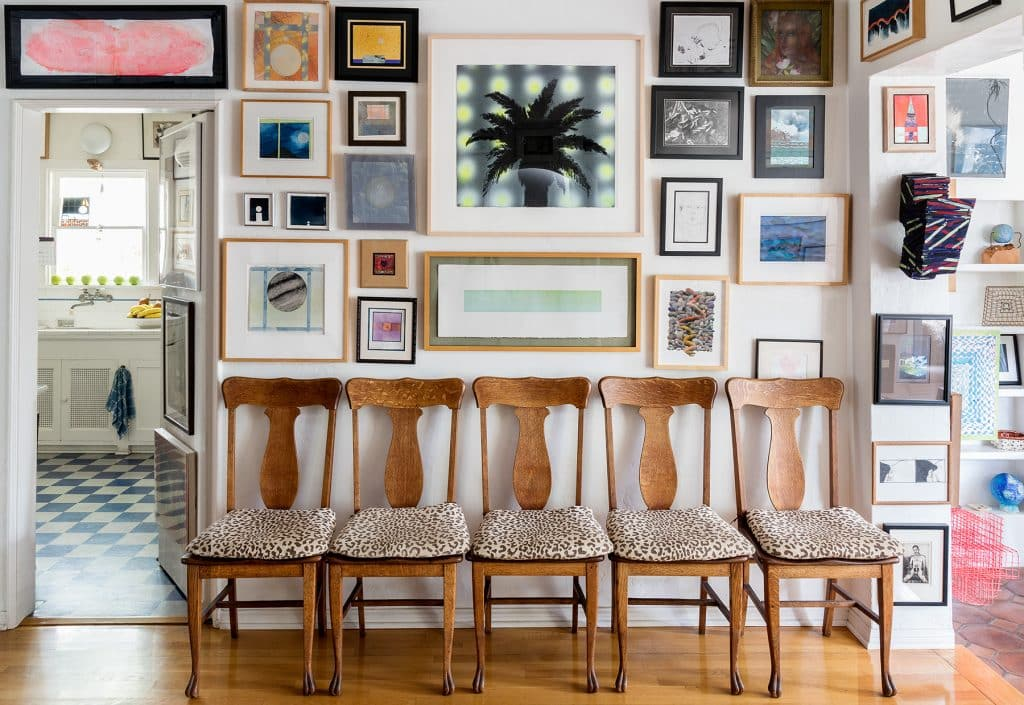 Don Bachardy's dining room