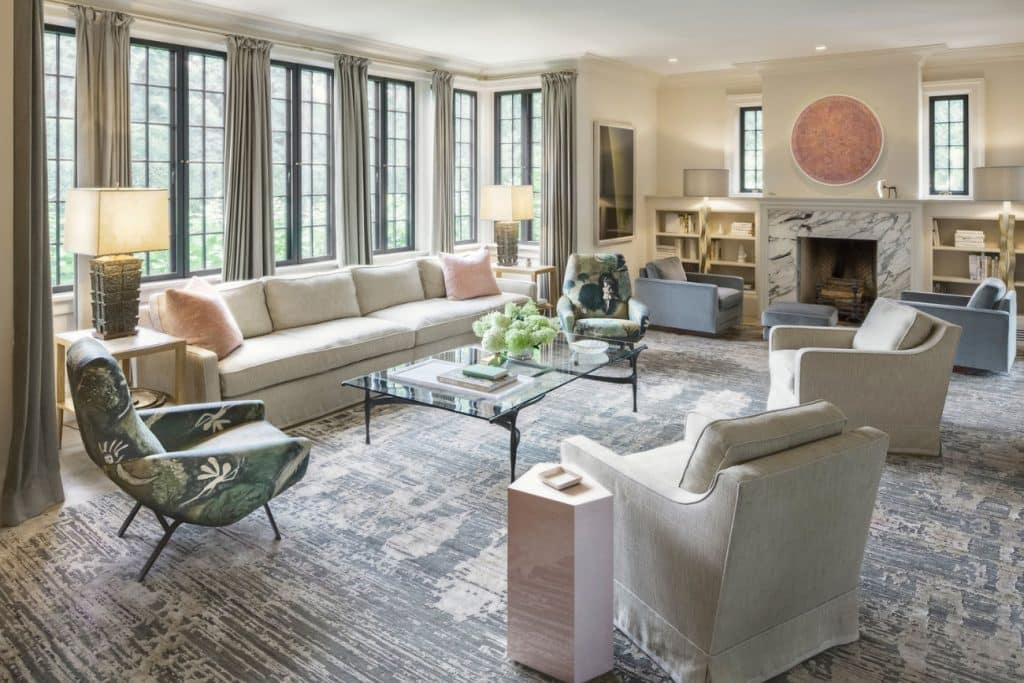 FormArch New York architecture and design firm East Hampton House Long Island Hamptons living room