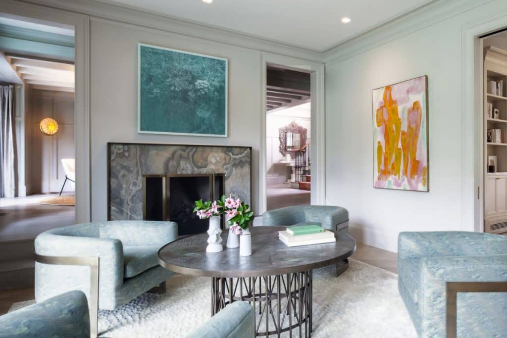 FormArch New York architecture and design firm East Hampton House Long Island Hamptons seating area