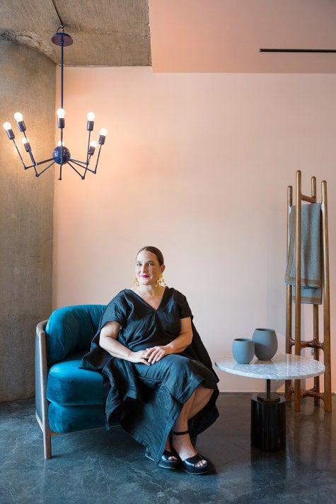Artelinea founding partner Andrea Cesarman