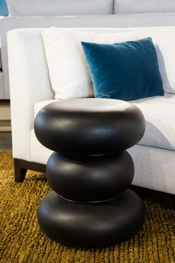 Ceramic Octavio stool by MT Objects