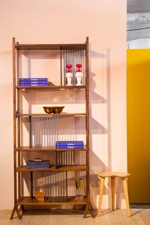A bookshelf designed by Comité De Proyectos