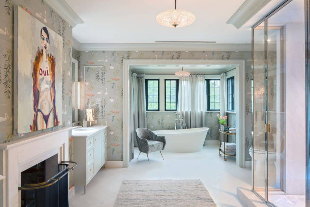 FormArch New York architecture and design firm East Hampton House Long Island Hamptons master bathroom