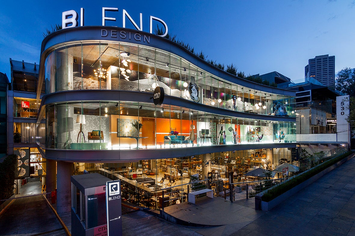 The Blend Building in Mexico City