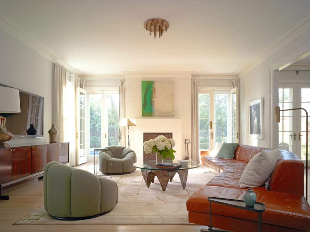 FormArch New York architecture and design firm Sag Harbor House Long Island Hamptons living room