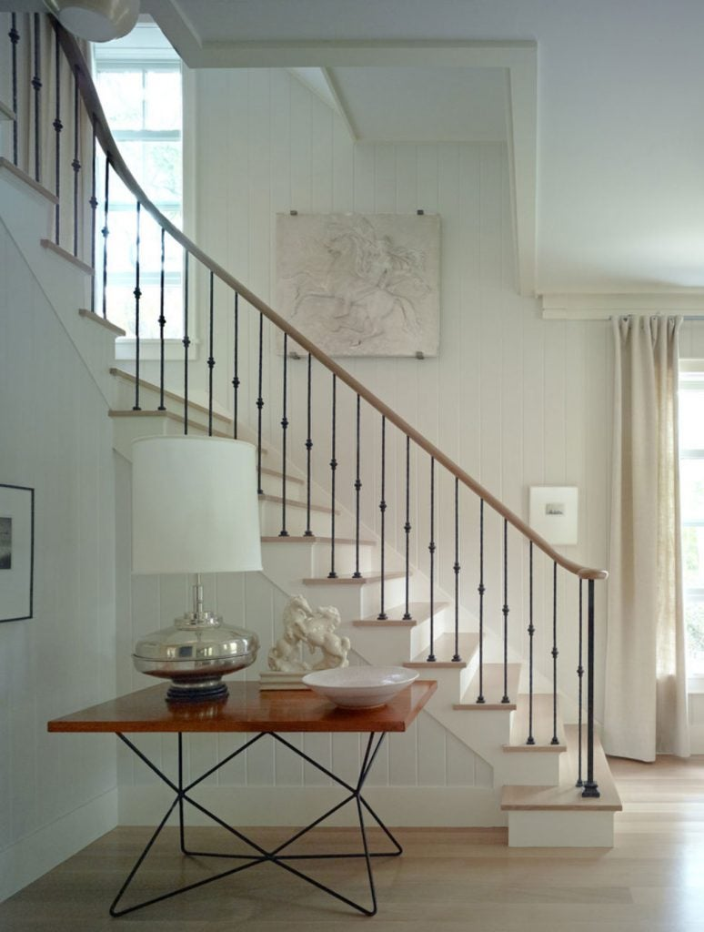 FormArch New York architecture and design firm Sag Harbor House Long Island Hamptons staircase